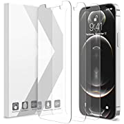 """Purity Screen Protector Compatible with iPhone 12 Pro Max 2020 6.7"""", Tempered Glass Screen Film Designed for iPhone 12 Pro Max Anti-Scratch Work with Most Cases - 3 Pack"""