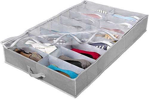 Extra Large Under Bed Shoe Storage Organizer Underbed Storage Solution Fits Men s and Women product image