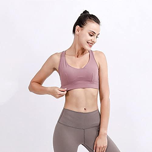 Mallas y leggings deportivos para mujer Ropa de yoga ropa interior deportiva de verano para mujer absorción de impactos correr reunidos pechos grandes anti-flacidez absorción de impactos belleza espa