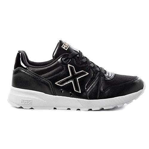 Zapatillas de Mujer MUNICH 1030 Negra 1451001 (Numeric_38)