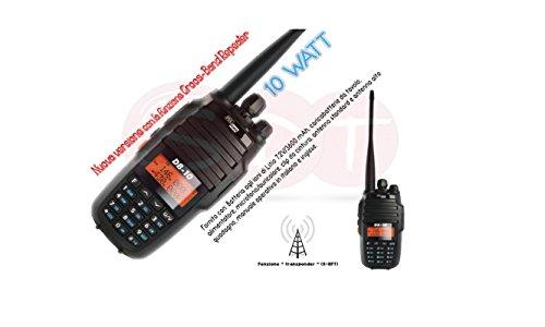 DB-10 POLMAR VERSIONE EXPORT DUAL / TRI BAND VHF/UHF 10 WATT 144/220/430 'DOPPIA ANTENNA'