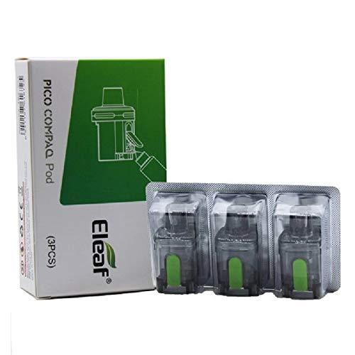 Cartuccia Eleaf PICO Compaq pod di ricambio 3 pezzi 3,8 ml ORIGINALE (NO NICOTINA)