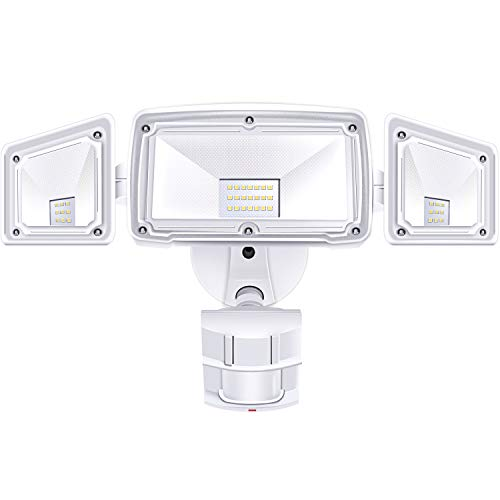3 Head LED Security Lights Motio...