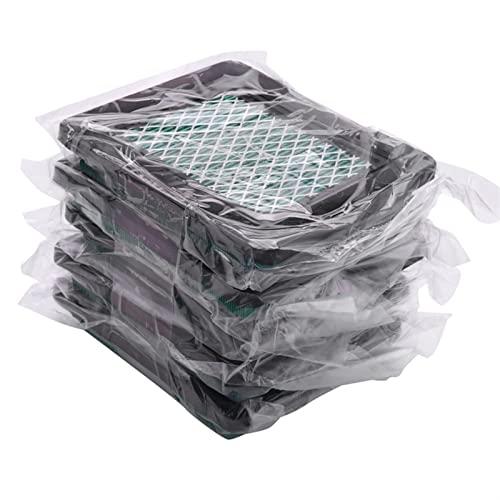 HCO-YU 5 Pack Pack Filtro de Aire FIT FOR GCV160 GCV190 FIT FOR Husqvarna 7021P COREFICIDAD DE LA COREFICITAD DE LA COREFICIDAD 17211-ZL8-023