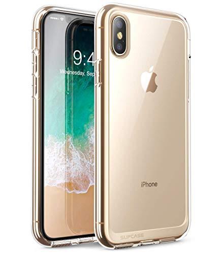 SupHülle iPhone XS Max Hülle Premium Hülle Hybrid Handyhülle Transparent Schutzhülle Backcover [Unicorn Beetle Style] für iPhone XS Max (6.5 Zoll) 2018 (Transparent)