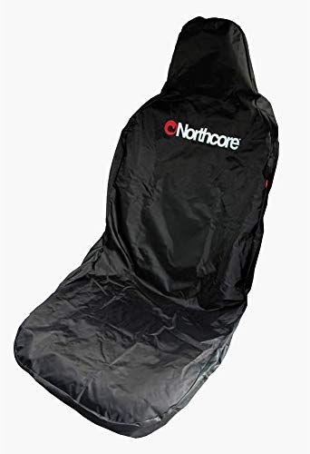 Northcore Car Seat Cover Funda para Skateboard, Adultos Unisex, Negro (Negro), Talla Única