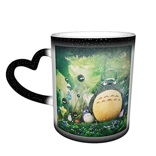 Anime My Totoro - Taza de té de cerámica con texto 'My Totoro'