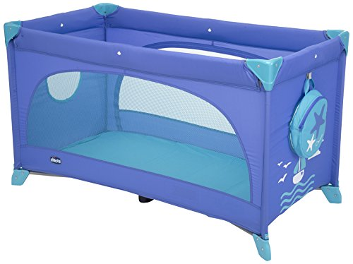 Chicco 07079268420000 Reisebettchen Easy Sleep, blau