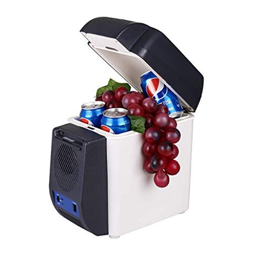 H.Slay SHKUU 7L Auto frío frío portátil Nevera portátil Coche Mini refrigerador Ligero Aislado Caja de refrigeración contenedor Camping Coolbox 12V