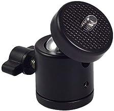 "CEUTA® 1/4"" Screw Tripod Ball Head Bracket Holder Mount Ballhead for DSLR Camera"