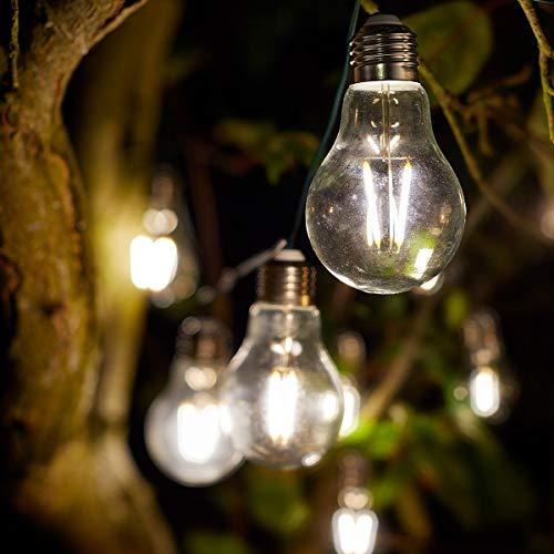 Smart Garden 1060301 Eureka! Retro String Lights - 10 Bulbs