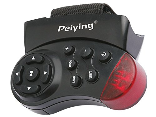 Peiying PY0001 - Control remoto Mando universal de volante para radios de Coche y reproductores de CD/DVD