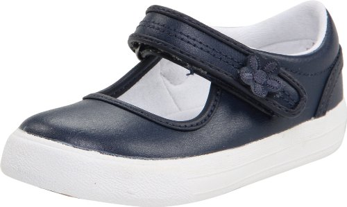 Keds unisex-child Ella Mary Jane Sneaker ,Navy,11 M US Little Kid