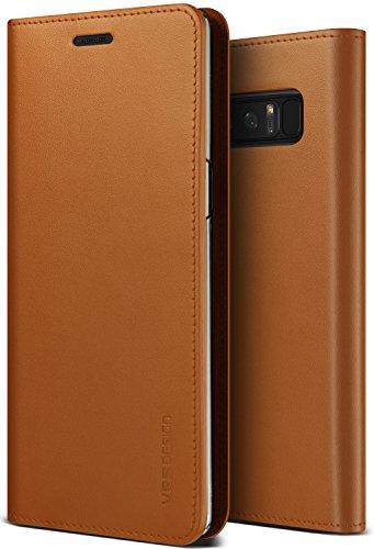 VRS DESIGN Custodia/Custodia Galaxy Note 8, [Genuine Leather Case]