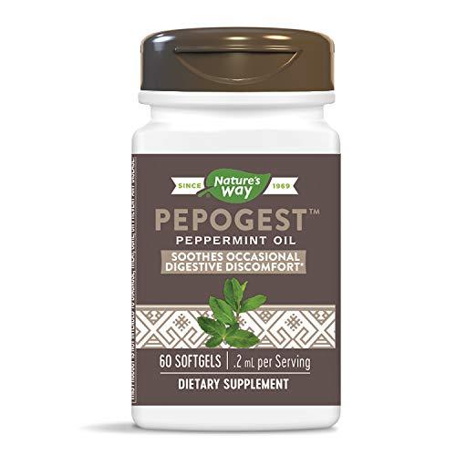 Pepogest, con recubrimiento entérico de aceite de menta, 60 Cápsulas Blandas - Camino de la Naturaleza