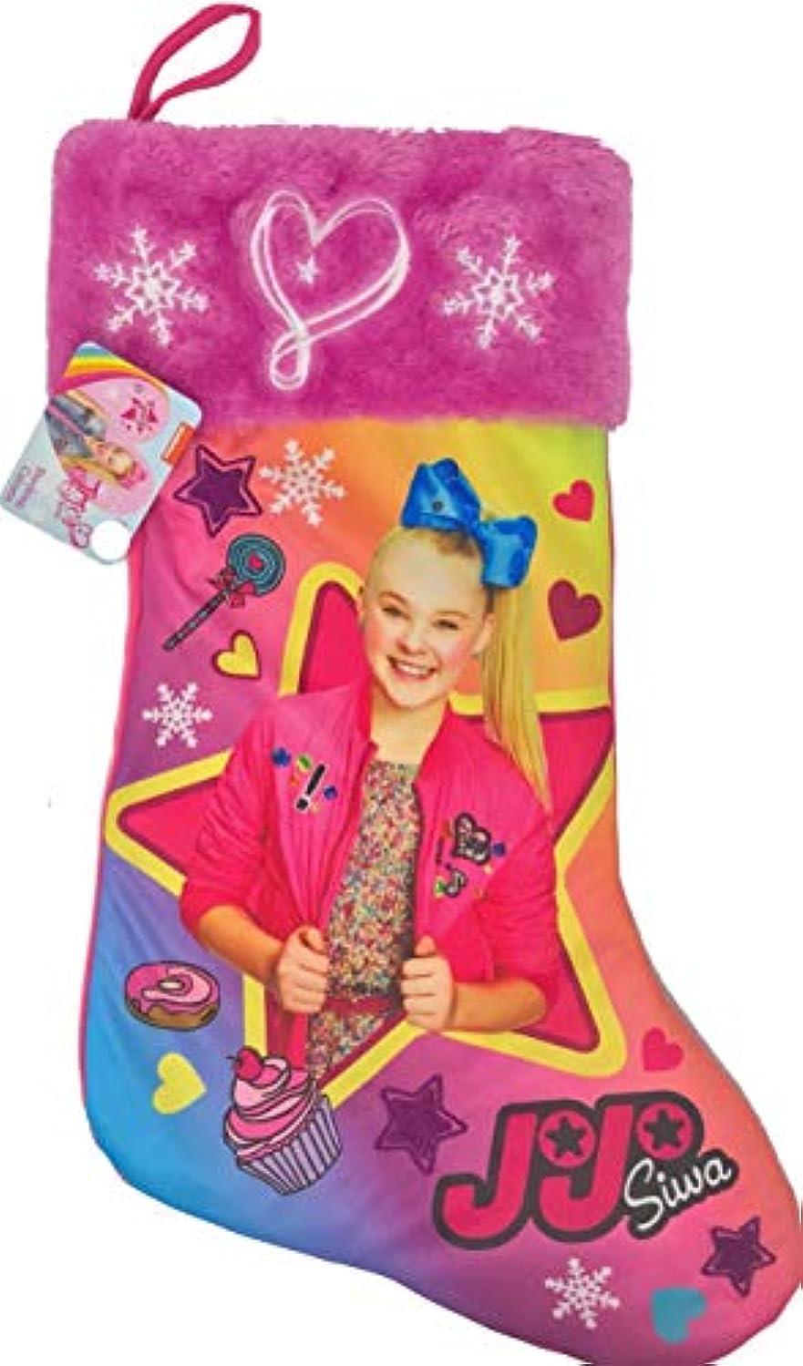 New JoJo Siwa Plush Children's Christmas Stocking/Hang & Fill Stocking with Gifts 2019