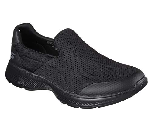 Skechers Performance Men's Go Walk 4 Incredible Walking Shoe, Black, 12.5 M US