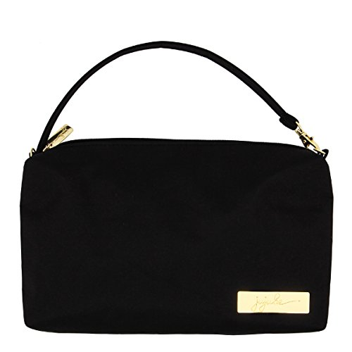 JuJuBe Be Quick Baby Wipe Carrying Case/Detachable Wristlet, Legacy Collection - The Monarch - Black