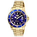 Invicta-Mens-Pro-Diver-Quartz-Watch-with-Stainless-Steel-Strap-Gold-20-Model-26974