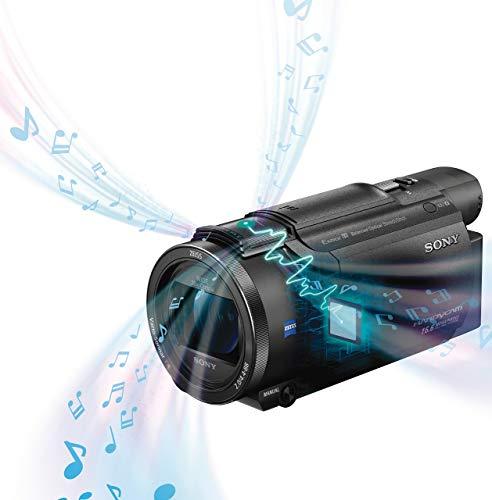 Sony FDR-AX53 - 4K Ultra Handycam (20-Fach optischer Zoom, 5-Achsen Bildstabilisation, NFC) schwarz