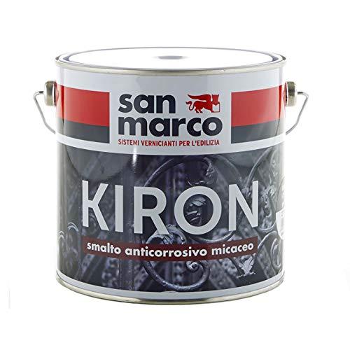 San Marco KIRON 70 Smalto anticorrosivo ad effetto micaceo, colore: Testa di moro, size: 0,75 lt