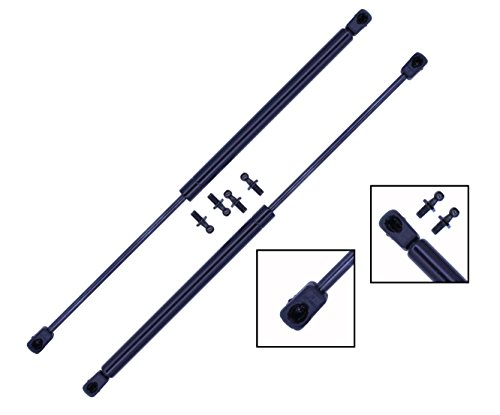 2 Pieces (SET) Tuff Support Hatch Lift Supports 1988 TO 1991 Honda Civic 3 Doors / 1982 To 1986 Nissan Sentra / Datsun Sentra Coupe