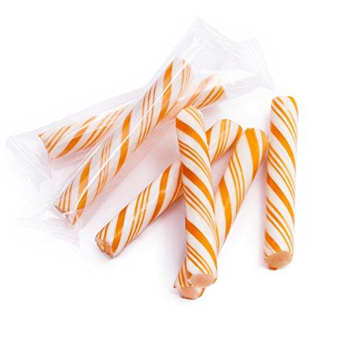 Sticklettes Petite Candy Sticks - 150 Piece Tub (Orange)