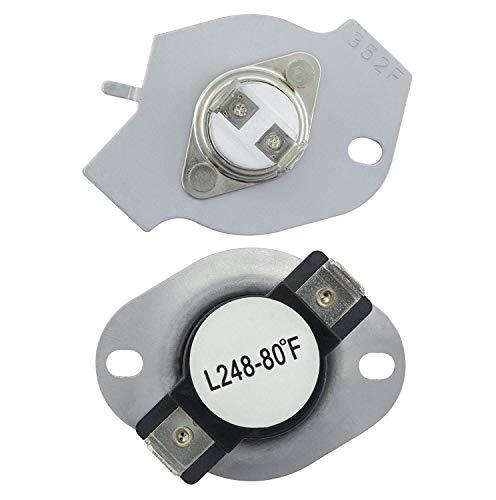OxoxO 279769 - Kit de Corte térmico para Secadora Whirlpool y Kenmore, reemplaza a 3389946, 3398671, 3977394, 695563, ap3094224, 3390291