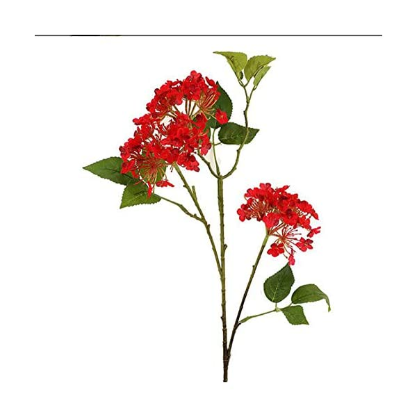 WYZBD Simulation 3 Leaves Hydrangea, Artificial Flowers Artificial Flowers Silk Flower Table Decoration(10pcs)