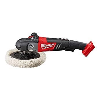 Milwaukee 2738-20 M18 18-Volt FUEL Lithium-Ion Brushless Cordless 7 inch Variable Speed Polisher  Tool-Only