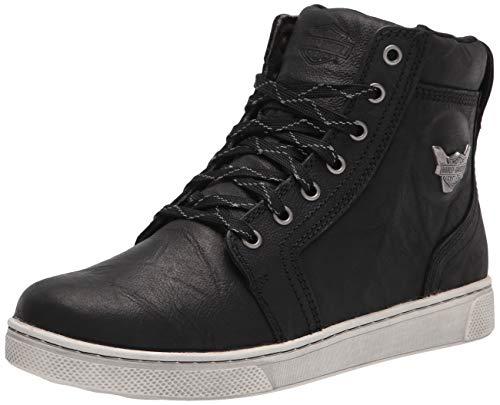 """HARLEY-DAVIDSON FOOTWEAR Men's Bateman 5"""" Metal Motorcycle Boot, Black, 9 Wide"""