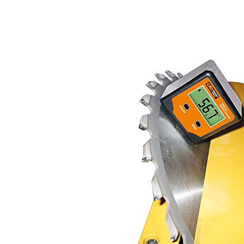 CMT DAG-00Single Goniometro Digitale Tascabile 360°, Arancio/Nero