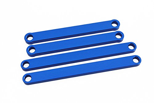Luxury RC Blue Aluminum Camber Arms for Traxxas Rustler and Stampede 2WD