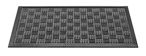CSN Lota Outdoor Fussmatte Grau, 40 x 60 cm | Schmutzfangmatte für Innen und Aussen | Fußabtreter für Außenbereich | Teppich Antirutschmatte fur Eigang