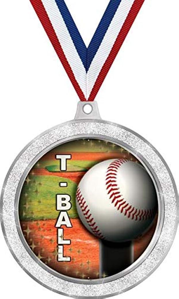 Kids Baseball Medal, 2 1/2