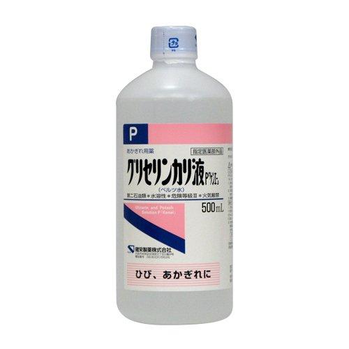 健栄製薬 グリセリンカリ液P ケンエー 500mL