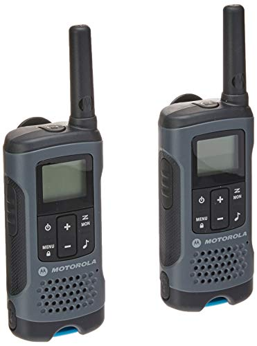 Motorola Talkabout T200BR Radio Communicator, Gray (pack of 2)