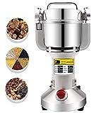 CGOLDENWALL 300g Electric Grain Mill Spice Herb Grinder Pulverizer Super fine Powder Machine