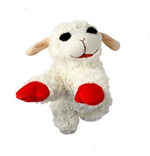 "Multipet Lamb Chop Classic Plush Toy (4 Sizes) (LG- 11"" for Medium Dogs)"