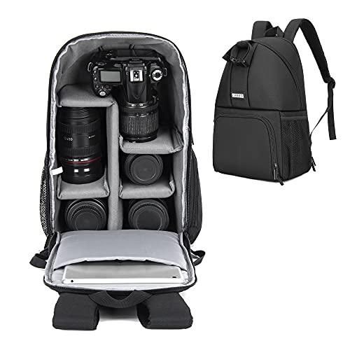 CADeN Camera Backpack, DSLR SLR Cam…