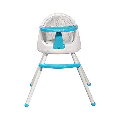 Tutti super chaise haute à manger bleu bébé multiposition 4en1 siège fauteuil
