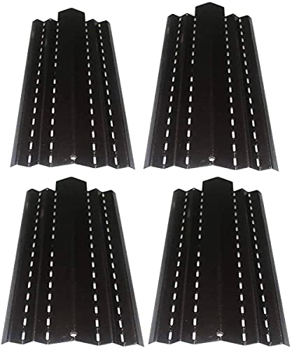 BBQ funland PH4491 (4-Pack) Porcelain Steel Heat Plate Replacement for Select Kenmore Gas Grill Models