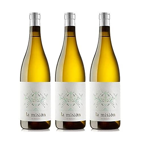 Vino Blanco Menade La Mision de 75 cl - D.O. Rueda - Bodegas Menade (Pack de 3 botellas)