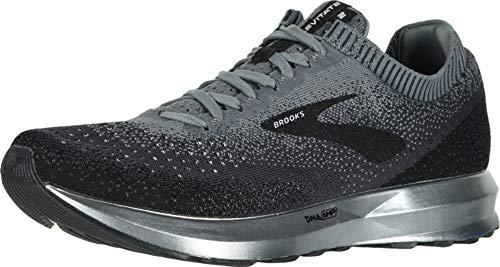 Brooks Mens Levitate 2 Running Shoe - Black/Grey/Ebony - D - 12.5