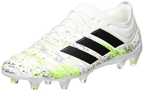 adidas Unisex Copa 20.1 Fg Fussballschuh, FTWR White/Core Black/Signal Green, 40 EU