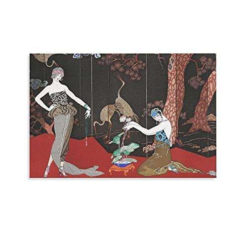 ABEPC Laca Fashion por Barbie, póster de estilo modernista de George para habitación, póster estético y arte de pared, impresión moderna para dormitorio familiar de 50 x 75 cm