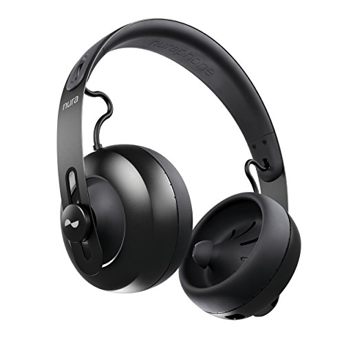 nuraphone - Wireless Bluetooth Over Ear Headphones with Earbuds. Creates Personalized Sound...