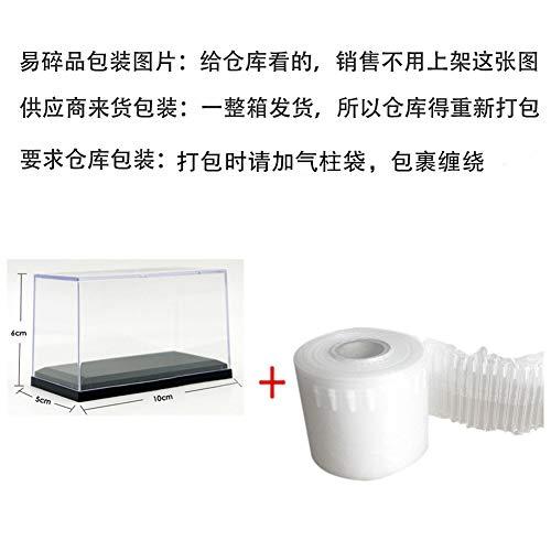 Metermall Home acryl vitrine voor schaal 1:64 auto stofdicht zwarte basis display box voor diecast model speelgoedauto