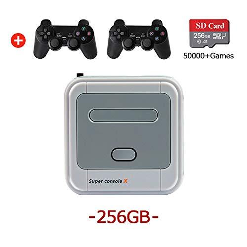 Lucakuins WiFi 4K HD Super Console X 50+ Emulator...