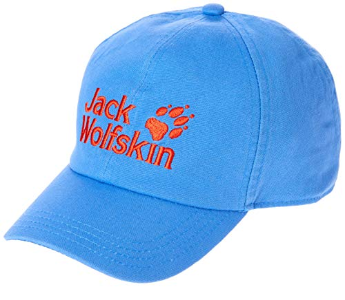 Jack Wolfskin Kinder Baseball Kappe, Wave Blue, One Size (49-55CM)